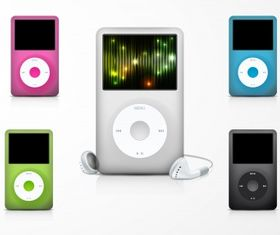 Apple ipod illustration Free vector