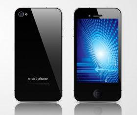 Apple iphone Free vector