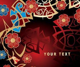 Floral Artistic vectors graphics