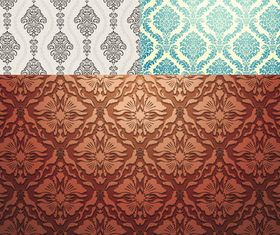 Vintage Style Patterns 34 vector