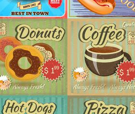 Backgrounds with Fastfood vector