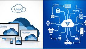 Computing Clouds 5 vector design