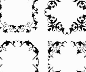 Ornamental Frames 7 vector design