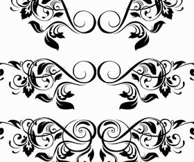 Ornamental Floral 3 vector