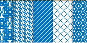 Seamless patterns set 04 vector