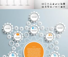 Infographics Backgrounds 53 vector