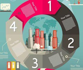 Real Estate Backgrounds 12 vectors