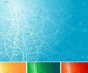 Cool background design elements vector