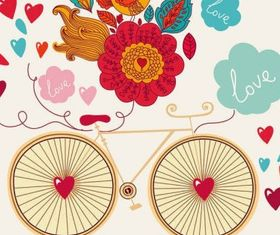 Hand-painted pattern card template Free design vectors