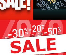 Sale Backgrounds 17 vector