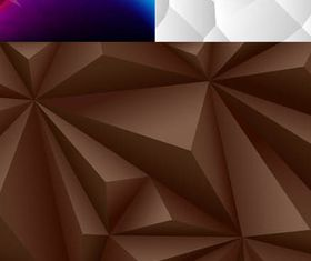 Geometrical Backgrounds vector