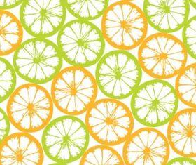 Orange block tiled background vector