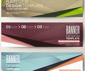 Abstract Banners 4 vectors