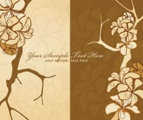 Classic pattern background 01 vector graphics