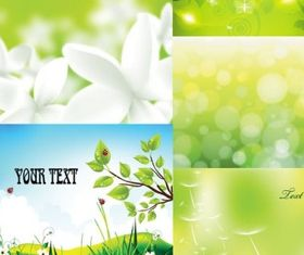 Green background vector design