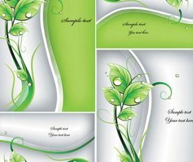 Fresh green background 2 vector