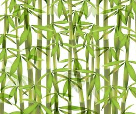 Bamboo background 01 vector material