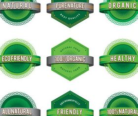 Ecology Shiny Labels vectors graphics
