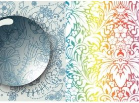 Cool background pattern 04 vector