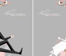 wedding background 01 design vectors