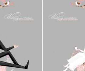 wedding background 01 design vectors