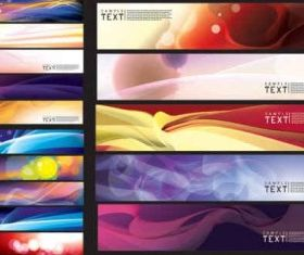 dream banner background vector design