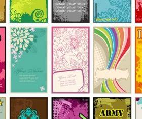 card template 06 vector design