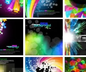 fashion glare background design vector