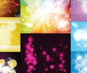 glare background Free vector