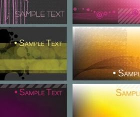simple card background graphics vector