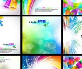 Fashion background 2 vectors graphic