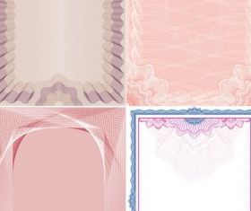 Simple lace texture background vector