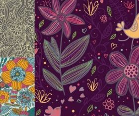 Fine background pattern vectors graphic