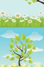 summer background Free vector