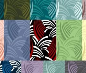 Multistyle wave background vector