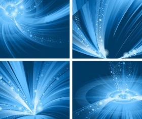 Special hyun blue background vector