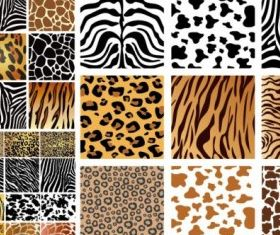 Animal skin texture background vector