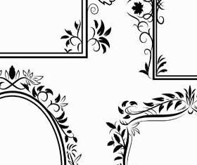Ornamental Frames 5 design vectors