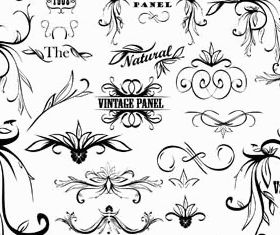 Ornamental Vintage Elements 11 vectors graphics