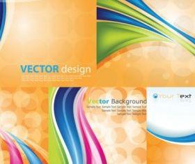Dynamic lines background vectors