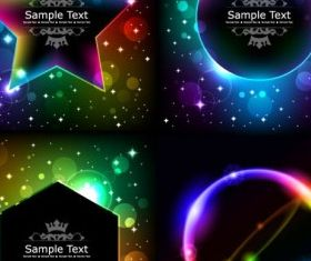 Cool light Free vectors graphic