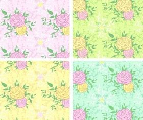 Peony background vectors material