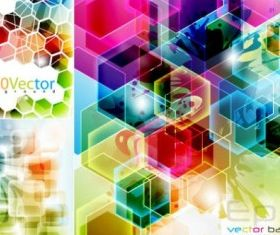 Lattice background Free 01 set vector