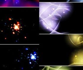 bright light background effect vectors