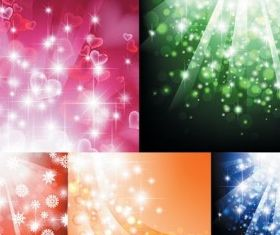 Light background design vectors