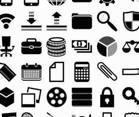 Web Icons Set 2 vectors graphics