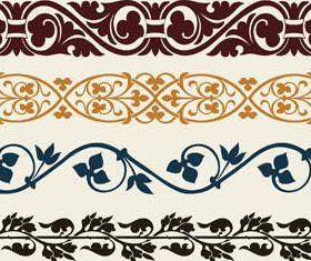 Colorful Ornamental Borders vector