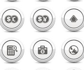 Metal Buttons 2 vector