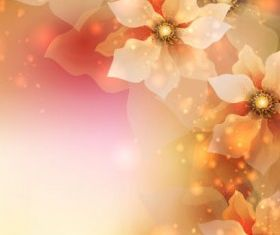 flowers background 4 vector design