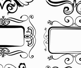 Ornamental Frames 4 vector